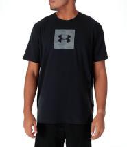 白菜价 Under Armour 安德玛 Camo Boxed Logo 棉质短袖T恤