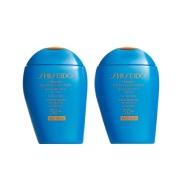 相当于7折+送4重好礼!Shiseido 资生堂 新艳阳防晒乳两瓶装 100ml×2