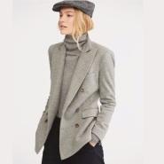【限时高返!】POLO RALPH LAUREN 针织 双排扣 女士休闲西装外套