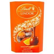 【中亚Prime会员】Lindt 瑞士莲 软心巧克力 橙子味 16粒/200gx2盒