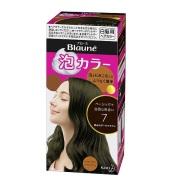 【中亚Prime会员】花王 Blaune 泡沫染发剂 7 偏黑深棕色