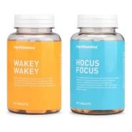 【55专享】Myvitamins 维生素B群组合 Wakey Wakey + Hocus Focus 90粒+90粒 学习伴侣