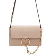 最后一只~Chloé Beige Small Faye Bag 裸色小 faye 包包