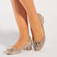 Tory Burch Annie Logo 女士平底鞋