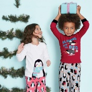 【闪促】Carter's:精选2件式舒适儿童睡衣