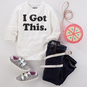 【閃促】Oshkosh B'gosh:精選兒童長袖T恤衫