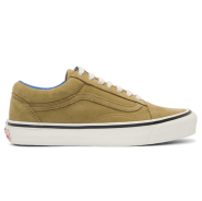 Vans Tan Nubuck OG Old Skool LX Sneakers 男款真皮休闲鞋