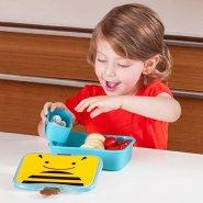 【中亚Prime会员】Skip Hop 动物园系列 儿童午餐盒零食盒 小蜜蜂/甲虫