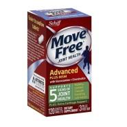 【买1送1】Schiff Move Free 维骨力氨基葡萄糖氨糖软骨素 绿瓶 120粒