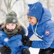 【成人可穿!】Canada Goose 加拿大鹅 经典 LOGO 男童款羽绒服