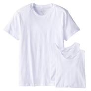 【中亚Prime会员】Calvin Klein 男士白色纯棉圆领短袖T恤3件装