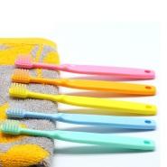 【中亚Prime会员】FINE 食用级细中软毛儿童牙刷 5支装