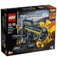 7.9折!LEGO 乐高科技机械斗轮式挖掘机 2016年旗舰款42055