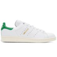 adidas Originals  White & Green Stan Smith Sneakers 男款小绿尾