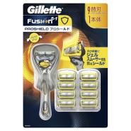 8折!【日本亚马逊】Gillette Fusion 锋隐手动剃须刀+9个替换刃