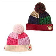 【Rakuten Global Market】Mikihouse 儿童卡通针织帽