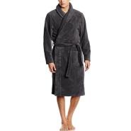 【中亚Prime会员】Tommy Hilfiger 汤米·希尔费格 加绒加厚男式浴衣/浴袍