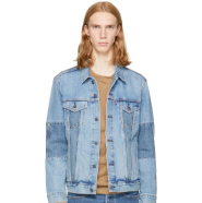Levi's Blue Denim Altered Trucker Jacket 男款牛仔外套