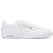 新低~Reebok Classics White Club C 85 Sneakers 中性款小白鞋