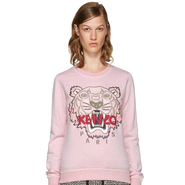 Kenzo Pink Limited Edition Tiger Sweatshirt 女款粉色限量版时尚卫衣