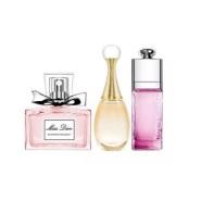 包邮小套装!Dior 迪奥 香水小样3件套礼盒装 含手提袋