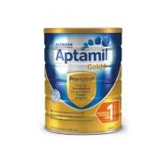 【1罐包邮包税】Nutricia Aptamil 爱他美金装 婴儿配方牛奶粉 0-6个月 1段 900g