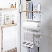 【中亚Prime会员】山崎实业 冰箱侧架磁铁型厨房用纸支架