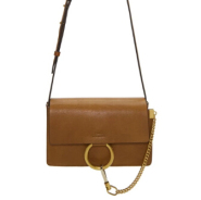 最后一只~Chloé Beige Small Faye Bag 棕色小 faye 包包