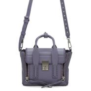 最后一只~3.1 Phillip Lim Purple Mini Pashli Satchel 紫色包包