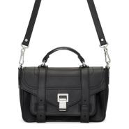 Proenza Schouler Black Tiny PS1+ Bag 黑色真皮包包