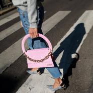 最后一只~Jacquemus Pink 'Le Sac Rond' Bag 粉色手袋