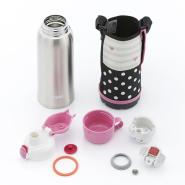 【亚马逊海外购】Tiger 虎牌 不锈钢保温杯 800ml 直饮/带杯 带粉色保护套