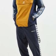 【额外8折】Adidas Originals Logo串运动休闲长裤