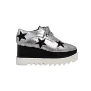 【码全】Stella McCartney Elyse Stars 女士系带高跟鞋