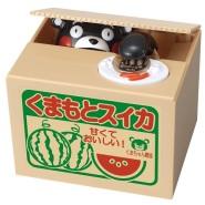 【日本亚马逊】会自己拿硬币的熊本熊存钱罐