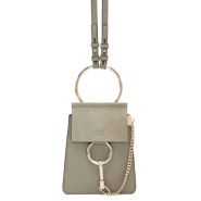 Chloé Grey Mini Faye Bracelet Bag 灰色迷你单肩包