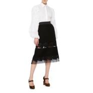 还有最后一件 Dolce & Gabbana 走秀款荷叶边宫廷风衬衫