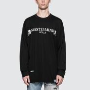 Mastermind world 破洞垂肩经典logo棉质卫衣