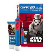 新低价!【中亚Prime会员】Oral-B 欧乐B Stages Vitality 儿童电动充电牙刷 星球大战款