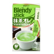 【日本亚马逊】AGF Blendy stick 抹茶味奶茶 7本*6箱