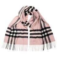 【节日礼物推荐】Burberry 博柏利 Classic 系列 BUR3994133 格子羊绒围巾 粉色