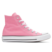 白菜,us6、7码有货~~Converse Pink Classic Chuck Taylor All Star OX High-Top Sneakers 女款粉色高帮鞋