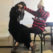 杨幂同款 Gucci Striped wool sweater with bee 男款条纹蜜蜂图案毛衣