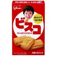 【日本亚马逊】Glico 格力高夹心饼干 15枚*10盒