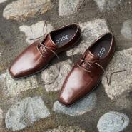 【德亚直邮】Ecco 爱步 Edinburgh Bike 男士系带正装皮鞋