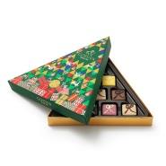 【3折】Godiva 歌帝梵 三角形节日巧克力礼盒 10颗装