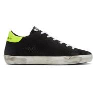Golden Goose Black Knit Superstar Sneakers 女款黑色透气网面运动鞋