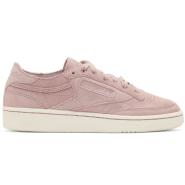 又降4刀,部分码有货~Reebok Classics Pink & White Club C 85 Sneakers 女款时尚复古运动鞋