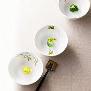 【中亚prime会员】NARUMI 鸣海 里花历 餐碗套装 13cm*5个