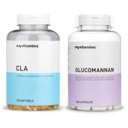 【额外8.5折】Myvitamins 饱腹燃脂瘦身套餐 CLA & Glucomannan 1个月量